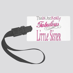 Fabulous LITTLESISTER Large Luggage Tag