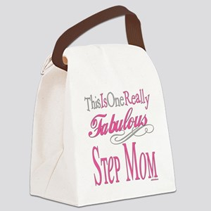 Fabulous STEPMOM Canvas Lunch Bag