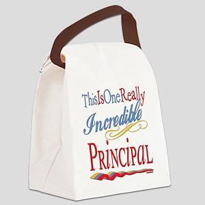 Incredible PRINCIPAL Canvas Lunch Bag