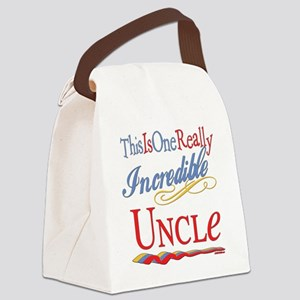 Incredible UNCLE Canvas Lunch Bag
