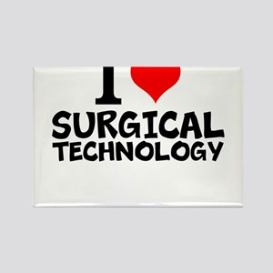 I Love Surgical Technology Magnets
