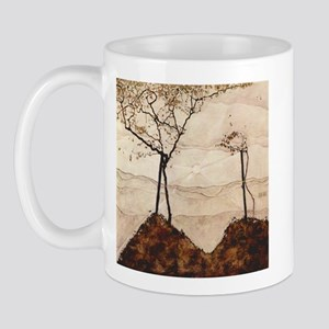 Egon Schiele Autumn Sun And Trees Mug