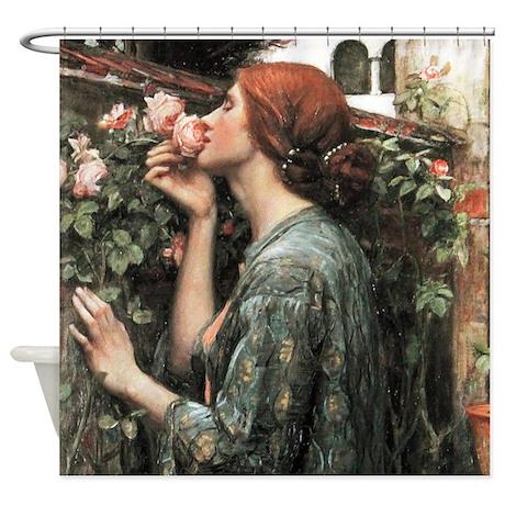 john william waterhouse my sweet rose shower curta by