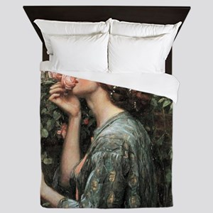 John William Waterhouse My Sweet Rose Queen Duvet