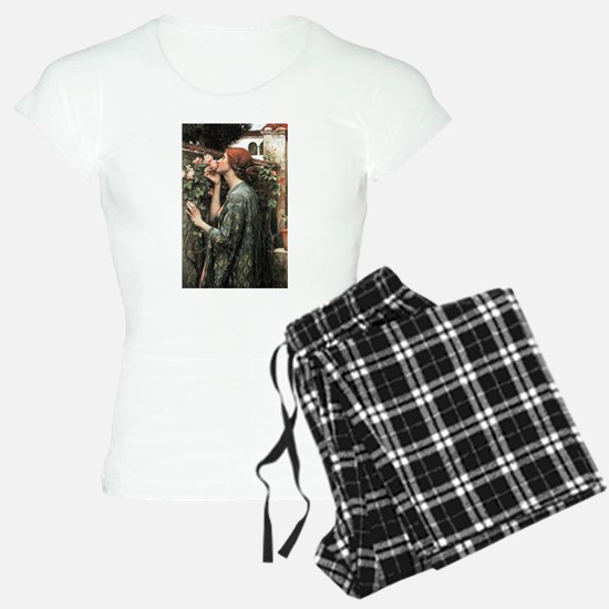 John William Waterhouse My Sweet Rose Pajamas