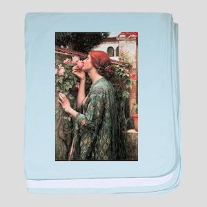 John William Waterhouse My Sweet Rose baby blanket