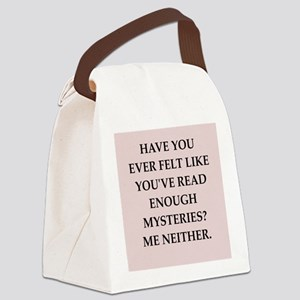 mysteries Canvas Lunch Bag
