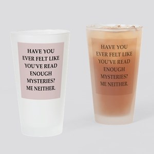 mysteries Drinking Glass