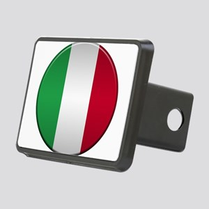 Italian Button Rectangular Hitch Cover