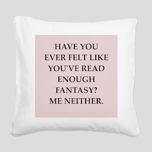 fantasy Square Canvas Pillow