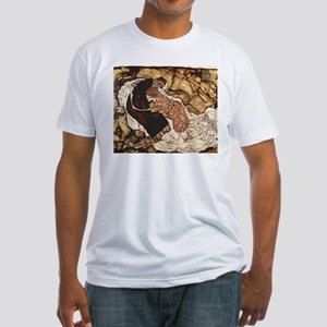 Egon Schiele Death And The Woman Fitted T-Shirt