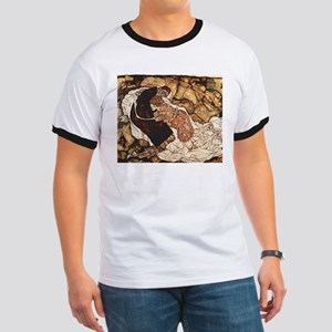 Egon Schiele Death And The Woman Ringer T