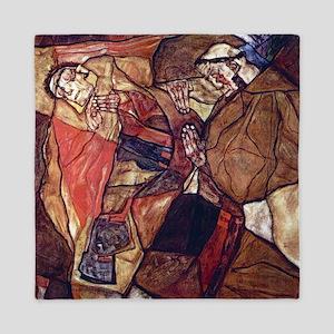 Egon Schiele Agony The Death Struggle Queen Duvet