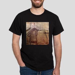 Egon Schiele The Bridge Dark T-Shirt