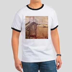 Egon Schiele The Bridge Ringer T