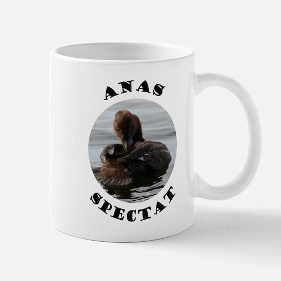 Roman Duck is Watching Mug