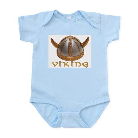Viking Helmet Infant Creeper