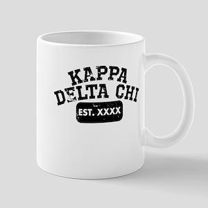 Kappa Delta Chi Athletic 11 oz Ceramic Mug
