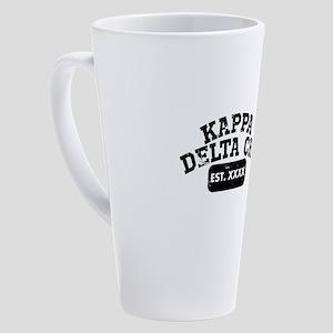 Kappa Delta Chi Athletic 17 oz Latte Mug
