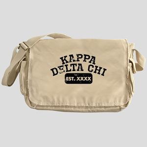 Kappa Delta Chi Athletic Messenger Bag
