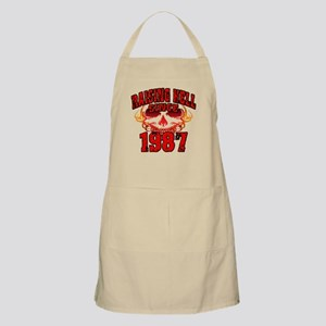Raising Hell since 1987 Apron