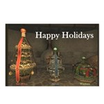 Happy Holidays Tree Postcards (Package of 8)
