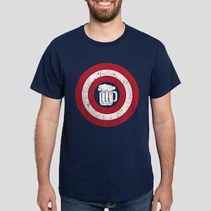 Captain Beer Dark T-Shirt