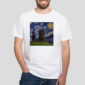 Starry Night & Affenpinscher T-Shirt