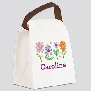 Daisy Garden Canvas Lunch Bag