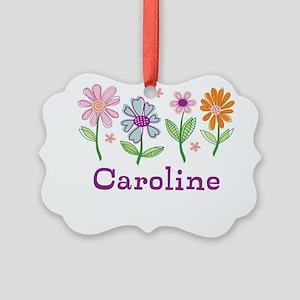 Daisy Garden Picture Ornament