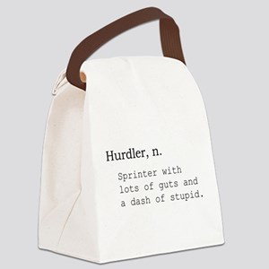 Hurdler Canvas Lunch Bag