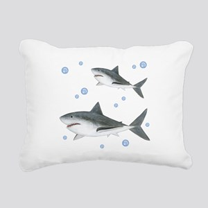 Shark Rectangular Canvas Pillow