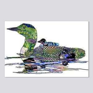Colorful Loon Postcards (Package of 8)