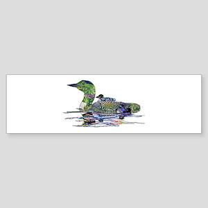 Colorful Loon Sticker (Bumper)