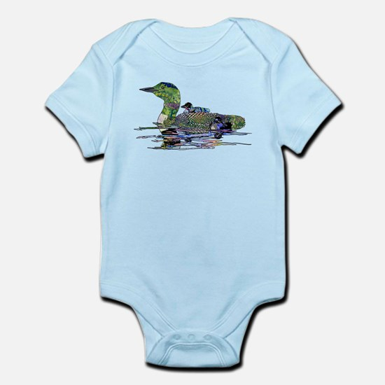Colorful Loon Infant Bodysuit