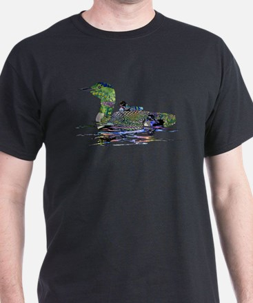 Colorful Loon T-Shirt