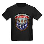 USS HENDERSON Kids Dark T-Shirt