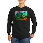 Green Mountains Long Sleeve Dark T-Shirt
