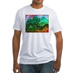 Green Mountains Fitted T-Shirt