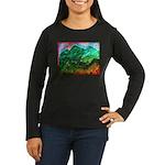 Green Mountains Women's Long Sleeve Dark T-Shirt