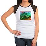 Green Mountains Women's Cap Sleeve T-Shirt