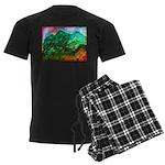 Green Mountains Men's Dark Pajamas