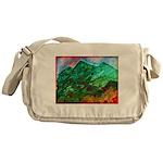 Green Mountains Messenger Bag