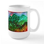 Green Mountains Large Mug