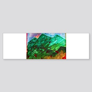 Green Mountains Sticker (Bumper)