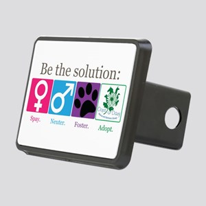 Be the Solution Rectangular Hitch Cover