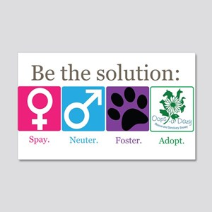 Be the Solution 20x12 Wall Decal