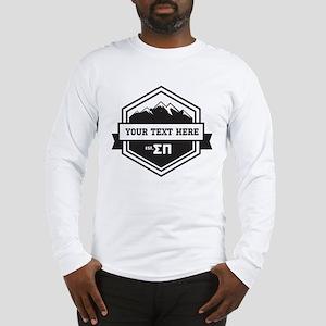 Sigma Pi Mountain Ribbons Long Sleeve T-Shirt