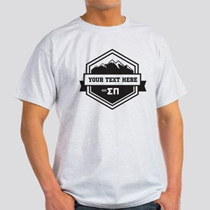 Sigma Pi Mountain Ribbons Light T-Shirt