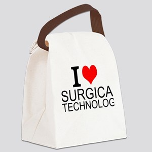 I Love Surgical Technology Canvas Lunch Bag